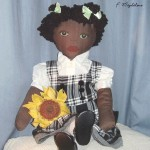 Mia African-American Rag Doll - Not for Sale