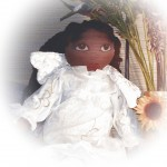African American Angel Doll *** SOLD