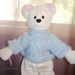Bear In Blue - SOLD